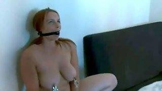Norwegian amateur group bondage big tits short hair sluts