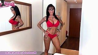 German amateur monster big tits tattoo milf oil pov fuck femdom
