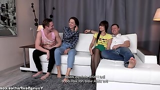 Young Sex Parties - Angie Moon - Liona Bee - Teenagers pound