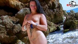 Spanish bungler latina anal open-air