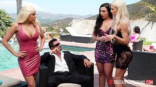 Cuban whore Luna Star is fucked fixed by senior man Tommy Gunn