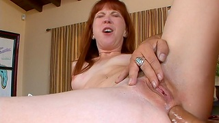 Crap deep anal copulation on the synthesize table ends with a facial for Trinity Post