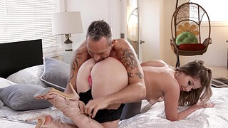 Passionate sexual congress with amateur girlfriend Vienna Pinkish in high heels