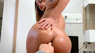 Passionate pussy and ass fucking with dear GF Zlata Shine